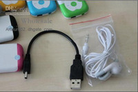 Wholesale Mp3 Mp4 Accessories Earphone pin USB Cable Sets For Mp3 Mp4 Player