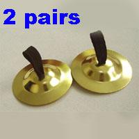 Wholesale 2x Egyptian Turkish Belly Dancing Finger Cymbals Zills