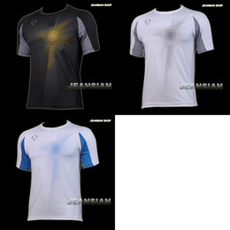 Wholesale Designer Mens Sports Quick Dry Stretch T Shirts Top Tee Stylish S M L XL LSL013