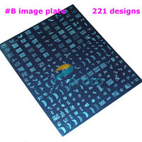 Wholesale 2PCS BIG SIZE XXL Stamp Image Plate Stamping Nail Art DIY Image Plate Template Dropshipping Retail