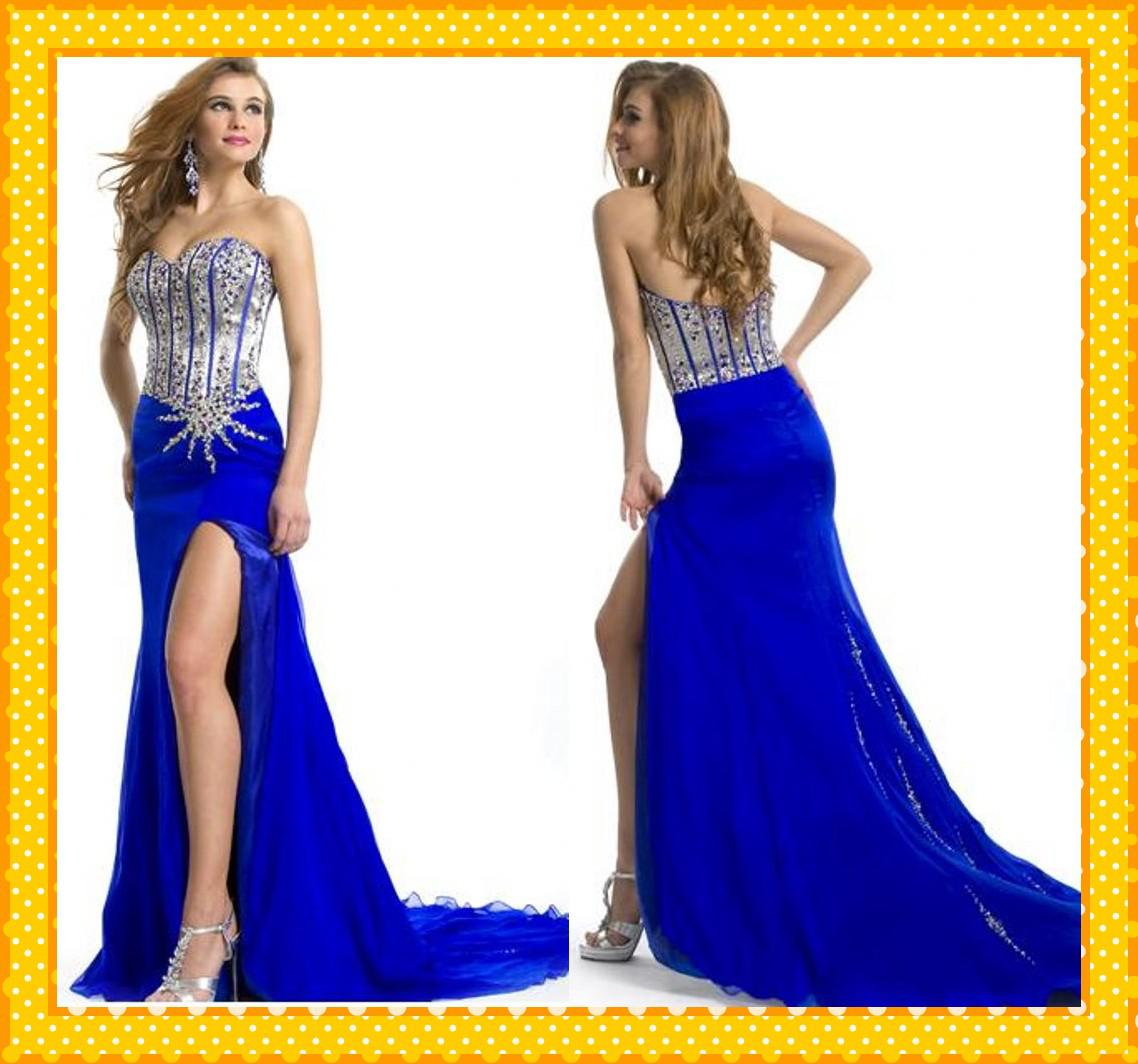 Cheap Blue Dress