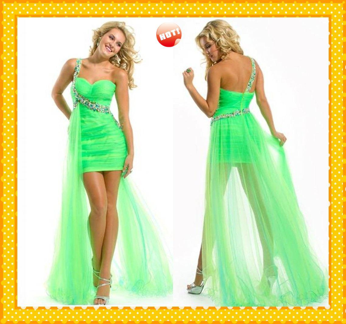 Lime Green Dress & Becuo
