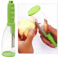 Wholesale New Kitchen Apple Vegetable and Fruit No Mess Peeler