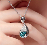 Wholesale Valentine s Day gift Beautiful gifts Arts and crafts Austrian crystal necklace