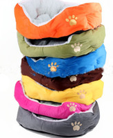 Wholesale pet product dog cat ded Classic warm the lambs wool soft kennel mixed order piece