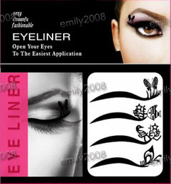 Wholesale Beautiful Easy To Remove Eye Shadow Eyeliner sticker Eye Liner Stickers Cosmetics pairs