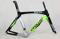 Wholesale 2013 MCipollini RB1000 Carbon Frame fork headset seatpost carbon bike Size XXS S L M6 road bike frameset