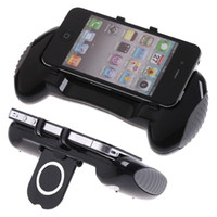 For Apple iPhone car charger and foldable charger For iPhone4/4S 15 in 1 Game Grip +Foldable Charger +Soft card+Case Cover Pack Kit Accessory for iPhone 4S 4