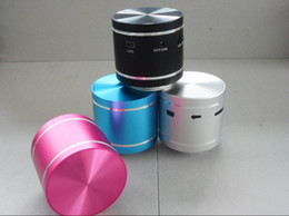 Wholesale vibration speaker Dwarf Omni Directional Resonance speaker with remote control colors DHL Free
