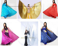 Wholesale Egyptian Egypt Belly Dance Dancing Costume Isis Wings Dance Wear Wing Colors