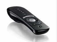 Wholesale Xmas T2 Wireless Air Fly Mouse Air Fly Mouse D Motion Stick Android Remote for Smart TV Box