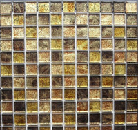 Wholesale modern art crystal mosaic mix stone