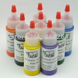 Wholesale tattoo pigment export sales the OZ dream of brand charm mom color tattoo pigment ink set