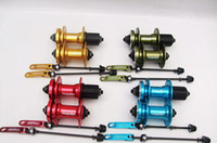 Wholesale Top Selling Colors QUANDO MTB Bicycle Cassette hubs with Quick Release V Disc Brakes Holes