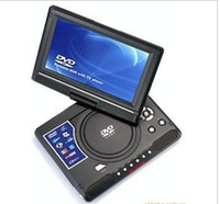 Wholesale 9 inch portable type DVD EVD game video card video mobile DVD