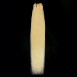 Wholesale 1sets wide human hair weft extensions quot g Blonde lightest blonde