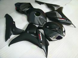 flat matte Black Fairing kit for HONDA CBR1000RR 1000RR 06 07 2006 2007 body repair fairings kit