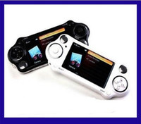 Wholesale 4 Inch PMP Player GB GB Handheld Game Player With MP5 Video FM Camera TV OUT Multi Function