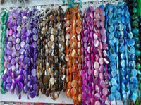 Multicolor wholesale semi precious beads - Natural Gemstone Semi precious Stones DIY Jewelry Agate Loose Beads mm mm String Mixed Batch