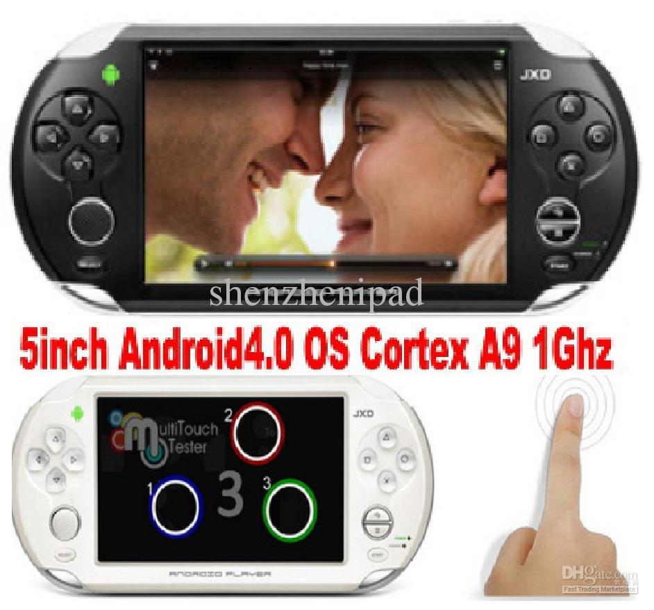 MP5 Game Player Android 4.0 OTG WIFI Ice Cream Screen Games Console