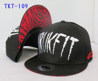 Wholesale Black Trukfit Red Visor Snapbacks Hats Adjustable Sport Caps Snapback Hats Cheap Price Hellosport86