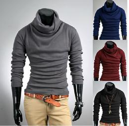 MEW Mens SLIM FIT BASE Turtle Neck Plain sweaters sweater