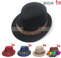 Wholesale Baby kids children s Caps accessories hat boys grils hats fedora hat dandys