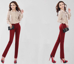 Wholesale New Leisure Trousers Fashion High Waist Pants tk0169