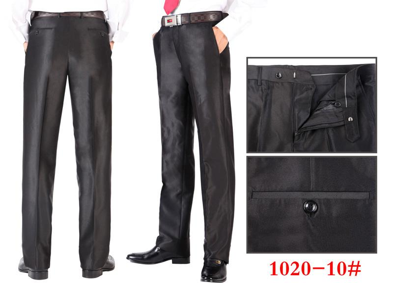 2017 Brand New Mens Suit Pants Designer Dress Pants Black Strouser ...