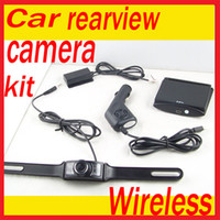 "Cheap 3.5"" Wireless TFT LCD Car Rearview Monitor Waterproof Reverse backup Camera Kit"
