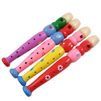 Wholesale Play musical instruments wooden flute Piccolo instrument