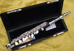 wholesale Similar Wood Gold Plate Piccolo Flute with Case