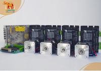 Wholesale CNC Router kits Axis Cnc Nema17 Wantai stepper motor g cm A VDC Mill driver