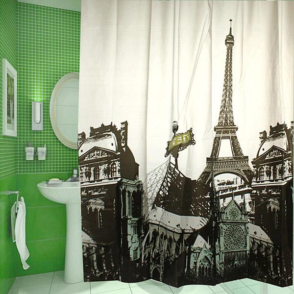 Wholesale Shower Curtains - Buy Eiffel Tower Shower Curtain