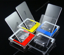 Wholesale Clear Acrylic Cell Phone Rack Display Stand Holder