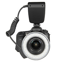 Wholesale New RF D Macro O Ring LED Flash Light for mm Lens w LCD