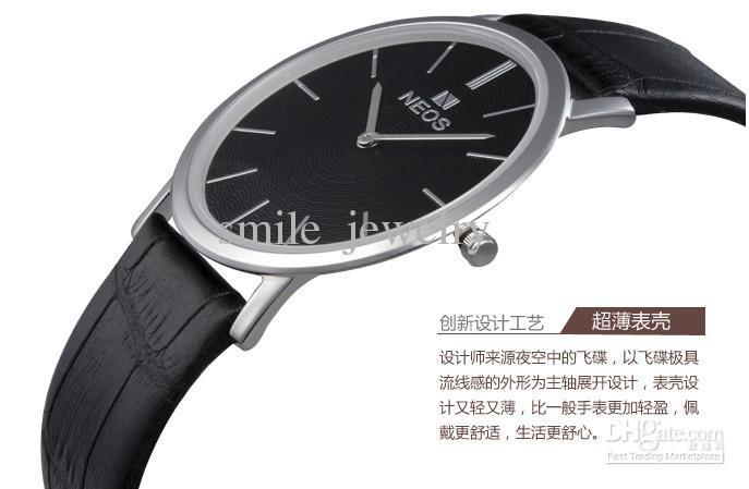 Men S Ultra Thin Day Date Battery Watches