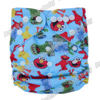 Wholesale Hot Sale Newborn AIO Mini Cloth Diaper Without Insert Pocket Waterproof Prefold Cloth Nappies