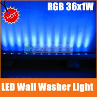 Wholesale LED RGB Wall washer light W waterproof IP65 flood lights color changing Length M CE ROHS