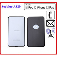 Wholesale Bluetooth Apple Peel SocBlue A820 External Bluetooth Converter for iPhone iPad iPod Android phone