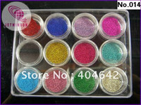 Nail Art 3D Decoration art display essentials - POTS Essential accessories nail color ball beads marbles For Nail Art Beauty