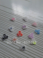 Nail Art Rhinestones art flower delivery - bag three motif polymer caly flower random delivery nail decoration lovely outlooki