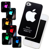 Wholesale X Sense Flash light Case Cover for Apple iPhone S G LED LCD Color Changed