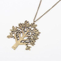 Wholesale Chrismas Necklace Retro Birds Pendant Necklaces For Women Chunky Jewelry