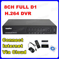 Wholesale HD Full D1 CH H Real time Security CCTV DVR Remote Surveillance Connect Internet Via Cloud