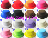 Wholesale NEW plain DIY Fascinator Lady mini party top hat Colors Available