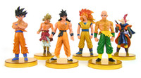 Wholesale retail Dragonball Dragon ball Z Action Figure pvc Cartoon toys Game doll the generation