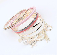 Wholesale Punk Style Alloy Bracelet New Jewelry Fashion Popular Design Hot Sale pc