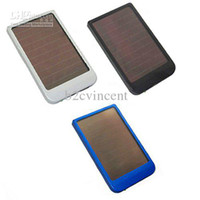 Wholesale S5Q mah Solar Charger Solar Panel Battery Charger USB for iPhone Digital camera PSP GPS