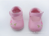 Wholesale toddlers shoe leather bottom soft bottom baby shoe the infant child toddlers shoes baby shoes